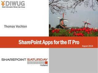 SharePoint Apps for the IT Pro