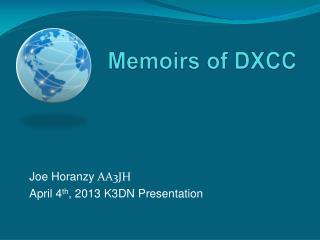 Memoirs of DXCC