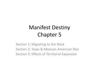 Manifest Destiny Chapter 5