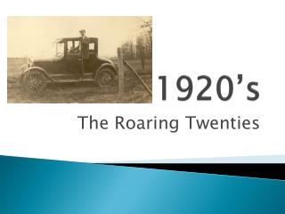 1920�s