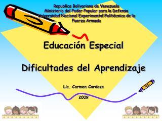 Republica Bolivariana de Venezuela Ministerio del Poder Popular para la Defensa  Universidad Nacional Experimental Polit