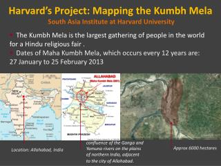 Harvard's Project: Mapping the Kumbh Mela  South Asia Institute at Harvard University