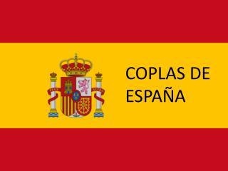 COPLAS DE ESPAÑA