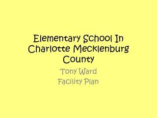 Elementary School In Charlotte Mecklenburg County