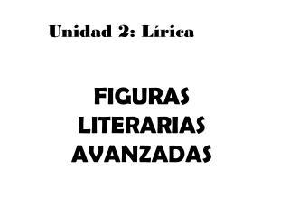 Unidad 2: Lírica