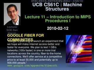 Google fiber for communities