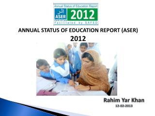 Rahim Yar  Khan 12-02-2013
