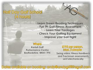- Learn Green Reading Techniques - Full TPI Golf Fitness Assessment - Learn Your Yardages