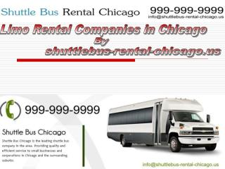 Shuttle Bus Rental Chicago