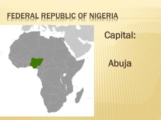 Federal Republic of Nigeria