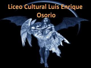Liceo  C ultural  L uis Enrique  Osorio