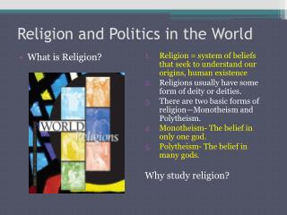 Religion and Politics in the World