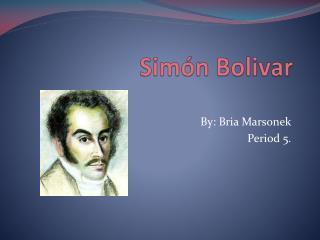 Sim�n Bolivar