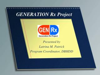 GENERATION Rx Project