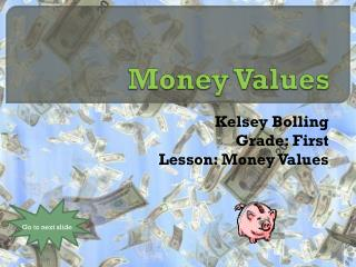 Money Values