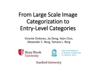 From Large Scale Image Categorization to  Entry-Level Categories