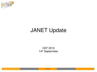 JANET Update
