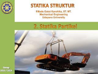 2.  Statika Partikel