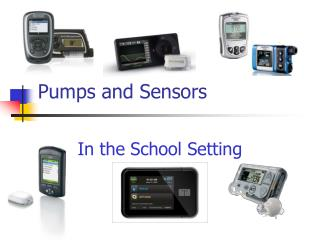 Pumps and Sensors