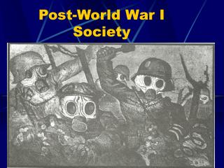 Post-World War I Society