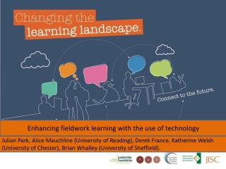 Enhancing fieldwork learning with the use of technology