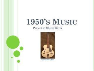 1950's Music