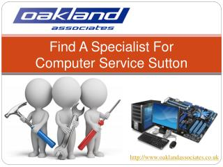 Find a specialist for computer service Sutton: