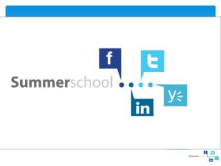 2.0-tools summerschool