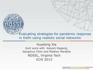 Evaluating strategies for pandemic response in Delhi using realistic social networks