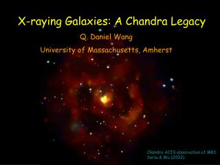 X-raying  Galaxies: A Chandra Legacy