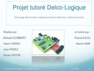 Projet tutoré Delco-Logique