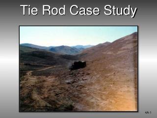 Tie Rod Case Study