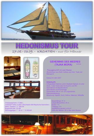GEHEIMNISDES MEERES (TAJNA MORA)   ***** Passagierschiff mit zwei Masten