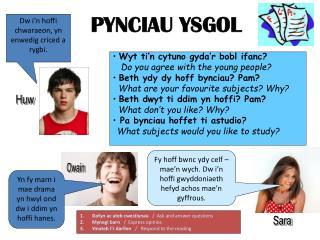 PYNCIAU YSGOL