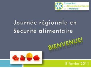 Journée régionale en Sécurité alimentaire