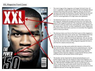 XXL Magazine Front Cover