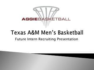 Texas A&M Men's Basketball