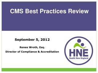 CMS Best Practices Review