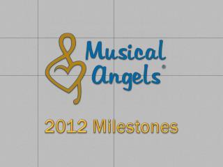 2012 Milestones