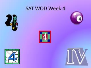 SAT WOD Week 4