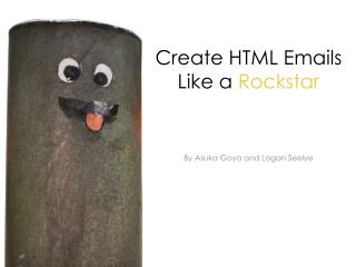 Create HTML Emails Like a  Rockstar