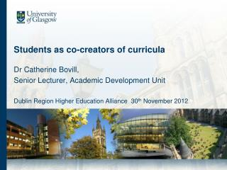 Students as co-creators of curricula