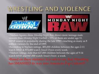 Wrestling and violence