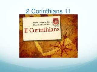 2 Corinthians 11