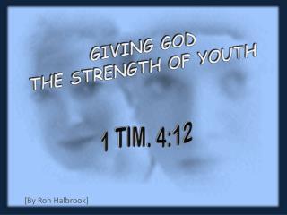 1 TIM. 4:12