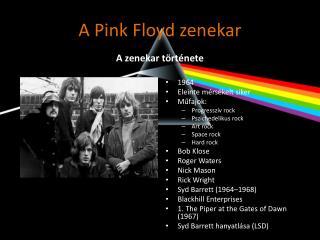 A Pink Floyd zenekar