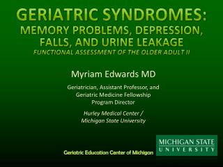 Myriam Edwards MD