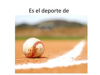 Es  el  deporte  de
