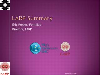 LARP Summary