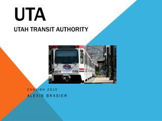 UTA Utah Transit Authority